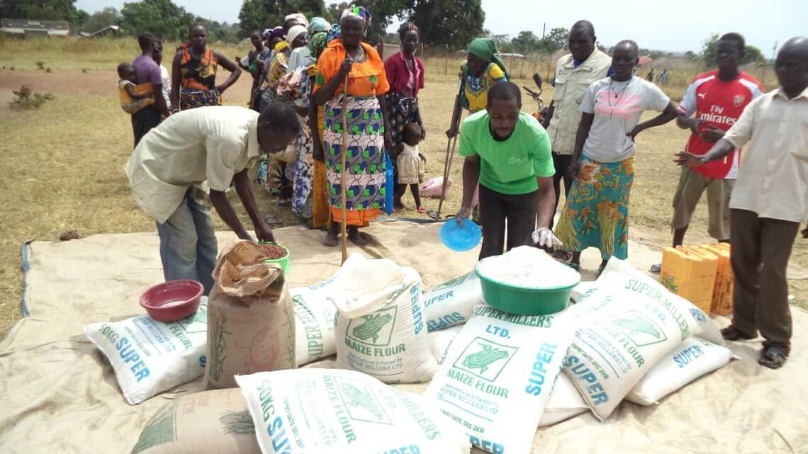 Caritas International Reaching out to an increasing number of South-Sudanese families