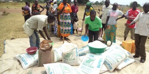 Caritas International Belgium Reaching out to an increasing number of South-Sudanese families