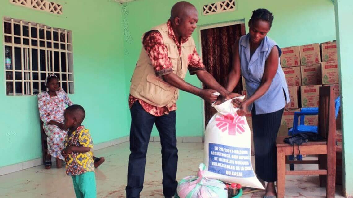 Caritas International Belgique Kasaï, RDC: une aide alimentaire pour 3.600 personnes
