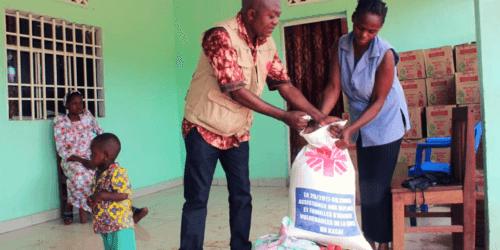 Caritas International Kasaï, RDC : une aide alimentaire pour 3.600 personnes