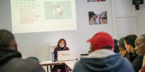 Caritas International Belgique «Cela fait des années que je n'ai pas vu mes enfants»