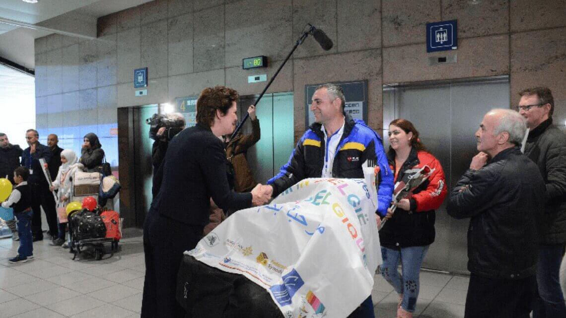Caritas International Belgique La solidarité s'organise pour un modèle d'accueil de communautés