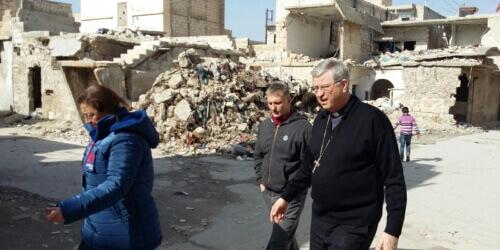 Caritas International Belgique Mgr Bonny de retour de Syrie : « Les rencontres vous collent à la peau »