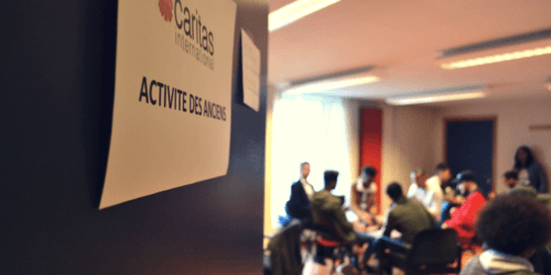 """Caritas International België """"Als ik tijd heb, wil ik helpen."""""""