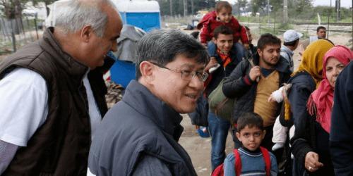 Caritas International Belgique Message de Pâques: «Partageons le chemin» des migrants