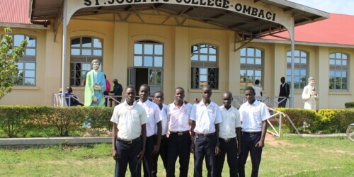 Caritas International België Studiebeurs voor jonge Zuid-Soedanese vluchtelingen