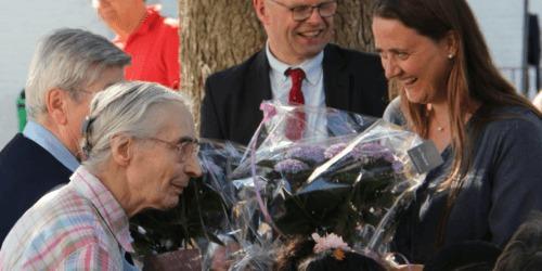 Caritas International België De Logis de Louvranges nemen afscheid van Zuster Christiane en Zuster Jeanne