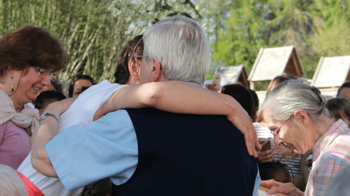 Caritas International Belgique Les Logis de Louvranges se séparent de Sœur Christiane et de Sœur Jeanne