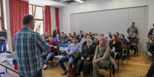 Caritas International België P2P support voor hervestigde vluchtelingen