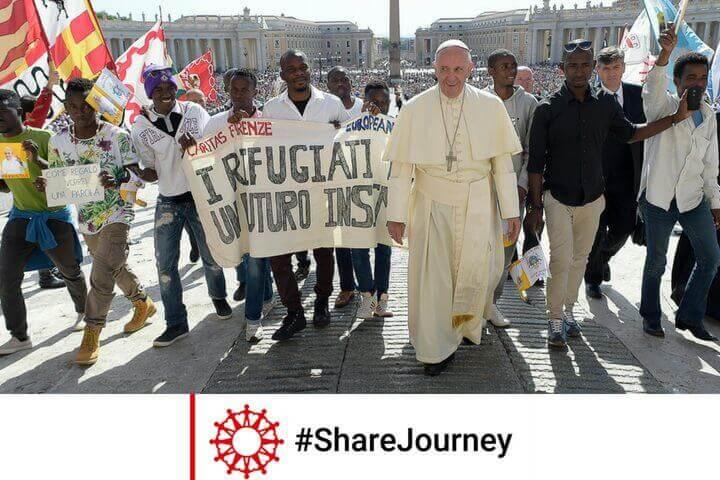 Caritas International BelgiëSamen op weg #ShareJourney
