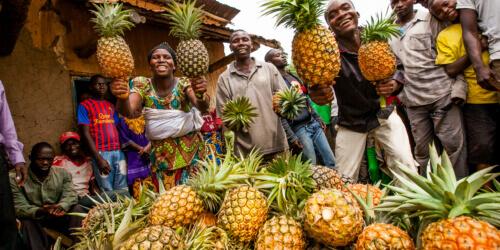 Caritas International België Empowerment in een wereld in beweging in Burundi