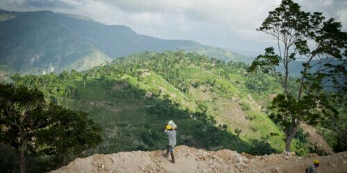 Caritas International België Empowerment in een wereld in beweging in Haïti