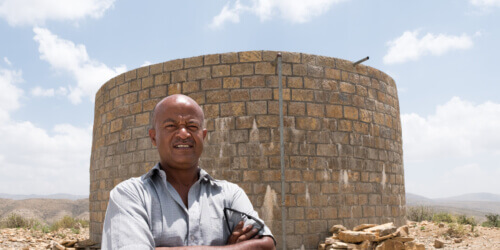 Caritas International België Empowerment in een wereld in beweging in Ethiopië