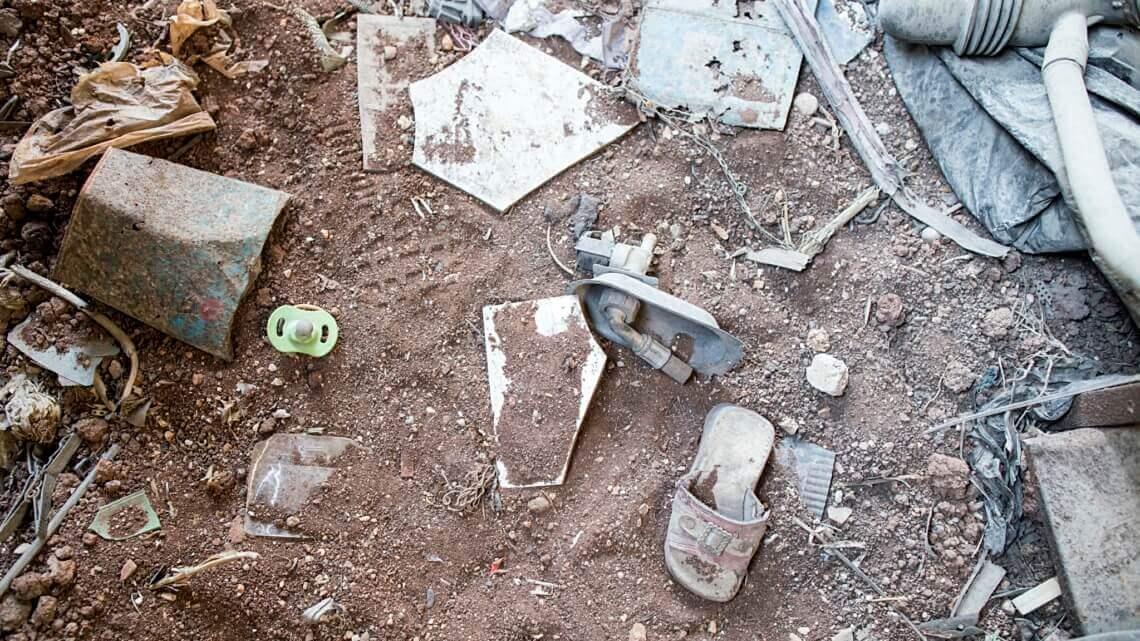 Caritas International België Daraa, nieuwe humanitaire crisis voor Syrië