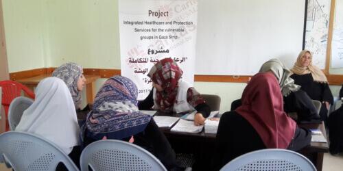 Caritas International België Medische zorg in Gazastrook