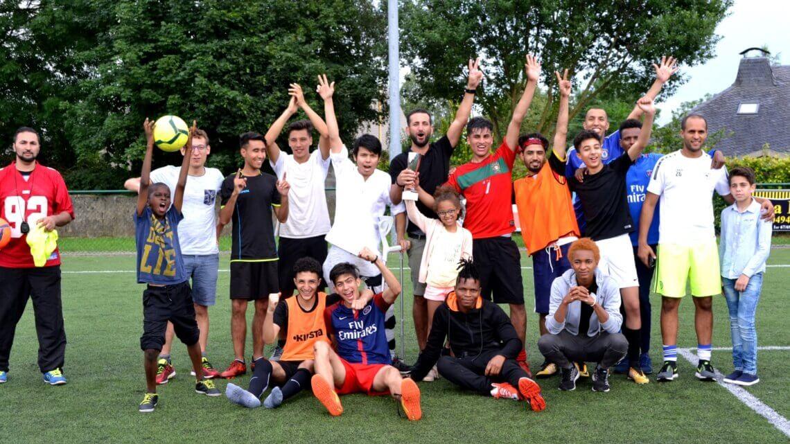Caritas International Belgique «Le football est ce qui nous relie, c'est pourquoi nous sommes ici»