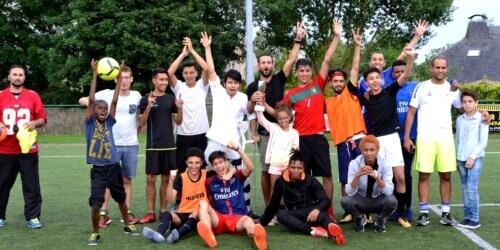 """Caritas International België """"Voetbal is wat iedereen verbindt, daarom zijn we hier."""""""