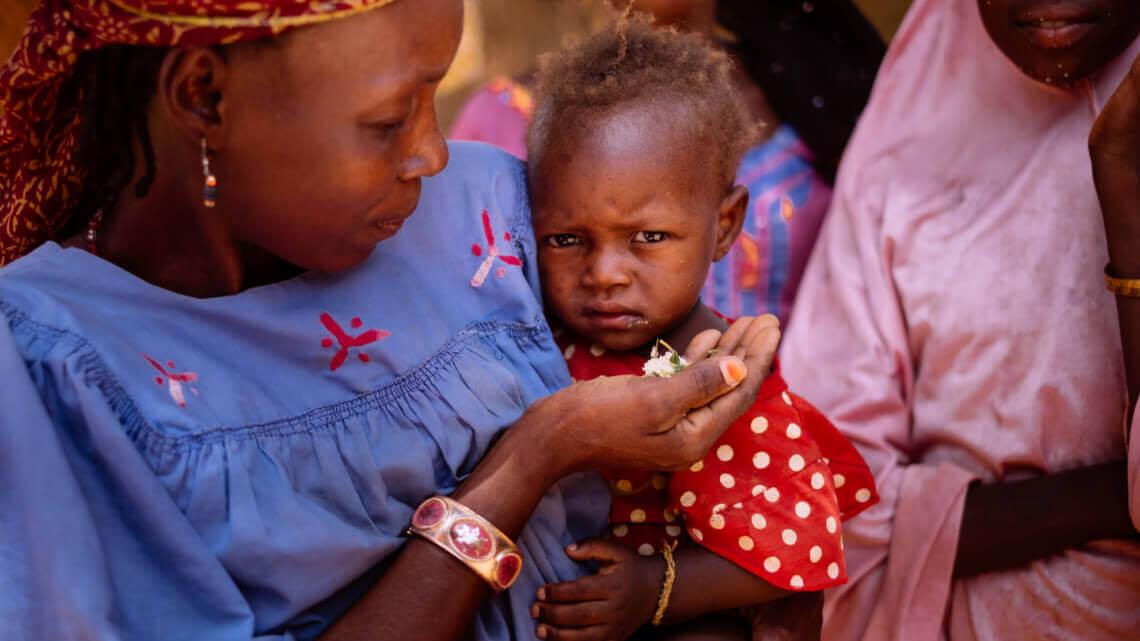 Caritas International België Steun aan de slachtoffers van voedselonzekerheid in Niger
