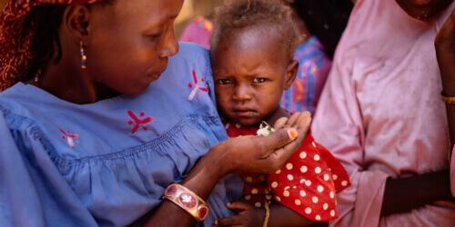 Caritas International Belgique Assistance aux victimes de l'insécurité alimentaire au Niger