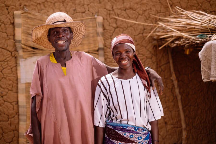 Caritas International België Het verhaal van Aïcha en Tijani