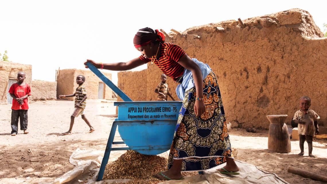 Caritas International België Empowerment in een wereld in beweging in Niger