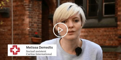 Caritas International België Een van onze sociaal assistenten over haar bezoeken aan het gesloten centrum 127 bis