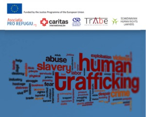 Referral for legal assistance in the case of victims of human trafficking
