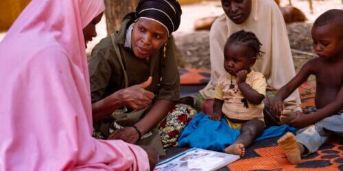 Caritas International België Vrouwen bestrijden ondervoeding in Niger