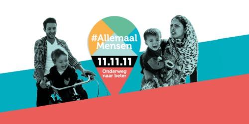 Caritas International België 11.11.11 campagne vraagt een menselijk migratiebeleid