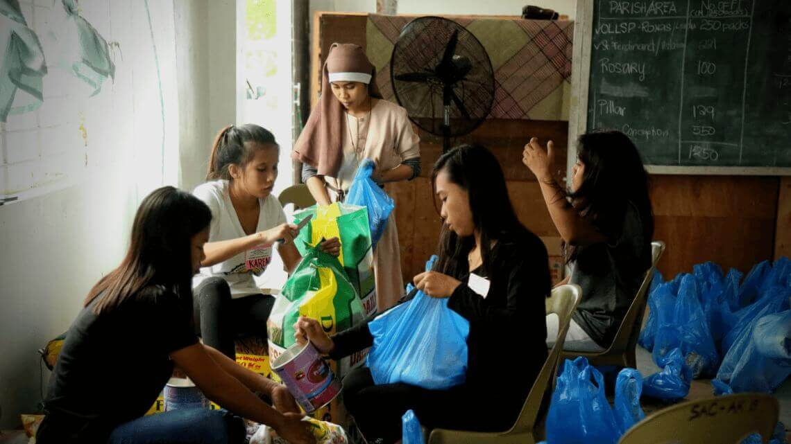 Caritas International Belgique Caritas sur le terrain aux côtés des victimes du typhon Mangkhut