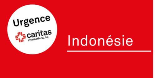 Urgence Indonésie. Caritas libère 40.000€ et appelle aux dons