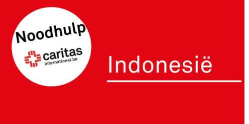 Noodhulp Indonesië. Caritas maakt 40.000€ vrij en roept op tot giften