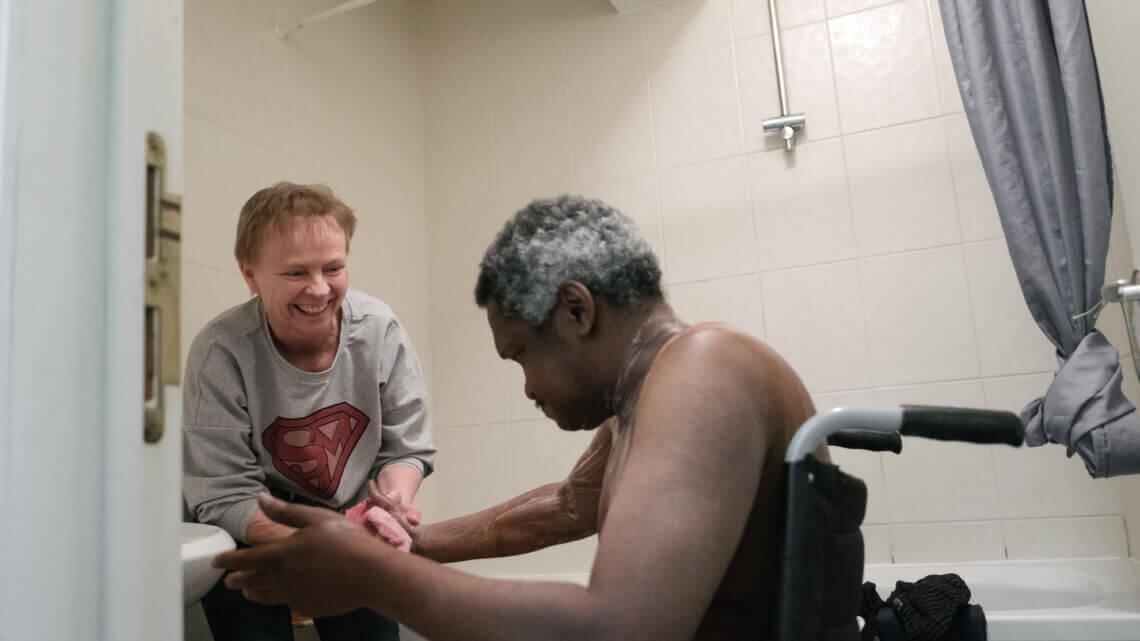 Caritas International België Hulp bij zware medische problemen