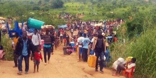 Caritas International Belgique Les expulsions en Angola font pression sur les Kasaï en RD Congo