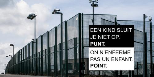 Caritas International België Teken de petitie tegen detentie van kinderen