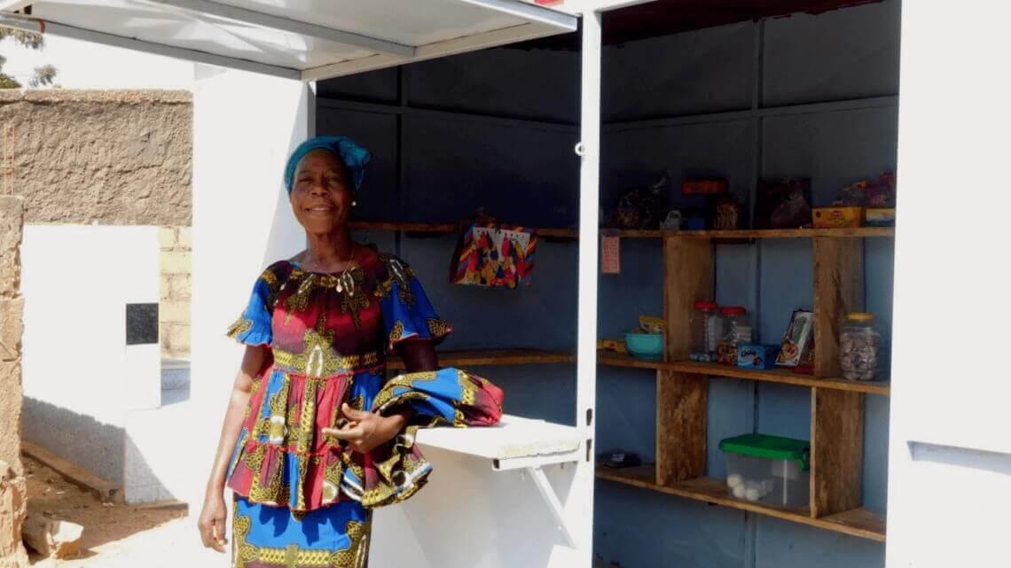 Caritas International Belgium Aline's return to Burkina Faso