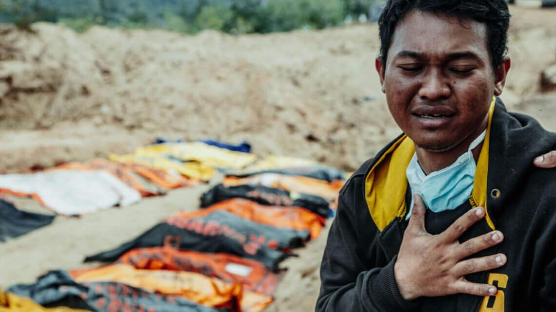 Caritas International België Zware aardbevingen en tsunami treffen Indonesië