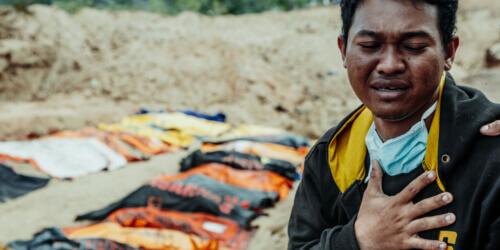 Caritas International Belgique L'Indonésie touchée par de graves tremblements de terre et un tsunami
