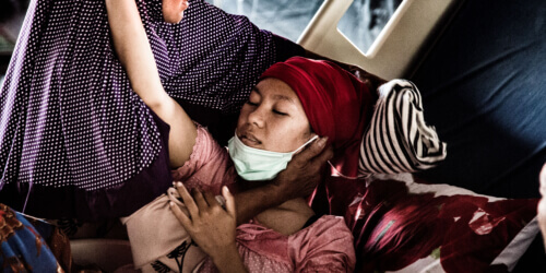 Caritas International België Indonesië: lokale hulpverleners doen het werk