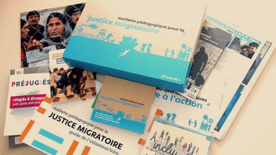 Caritas International Belgique Formations à la mallette pédagogique «Justice migratoire»