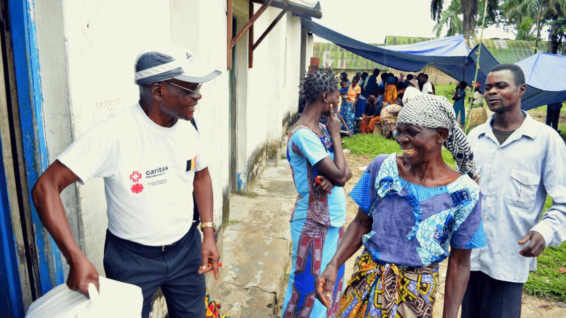 Caritas International Belgique Aide d'urgence pour les familles de retour au Kasaï
