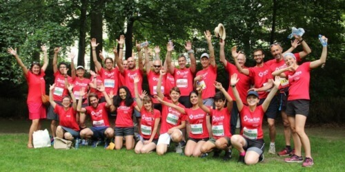 Caritas International Belgique 20 km de Bruxelles: courir pour reconstruire