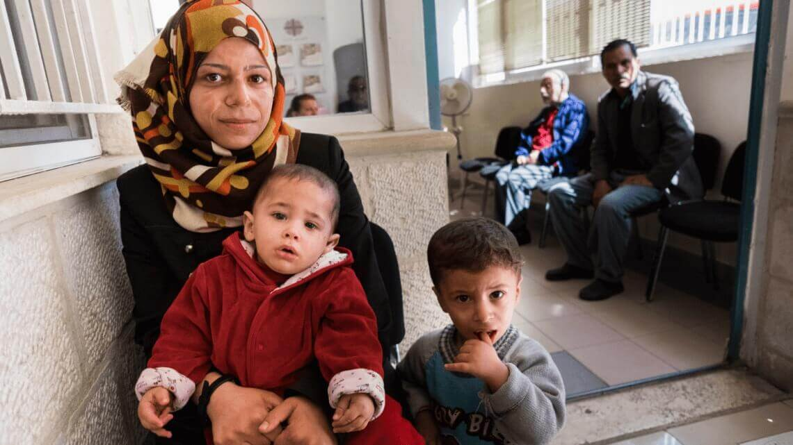 Caritas International België Jordanië: gastland voor vluchtelingen