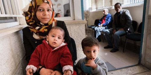 Caritas International Belgique Jordanie: pays d'accueil