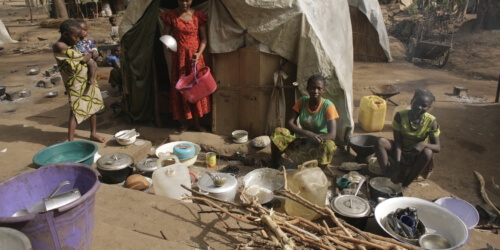 Caritas International België Vergeten crisis in de Centraal-Afrikaanse Republiek: burgers gegijzeld