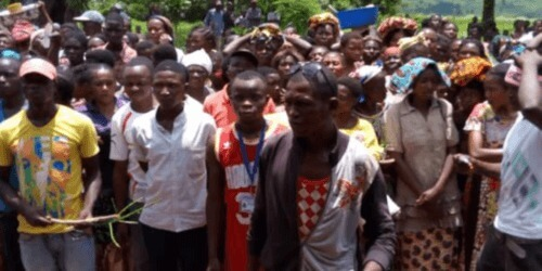 Caritas International België Verkiezingen, humanitaire crisis en ebola in Congo.