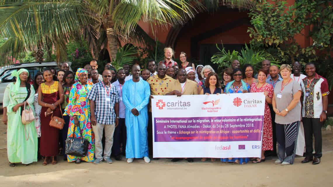 Caritas International België Ondersteuning bij re-integratie in 2018