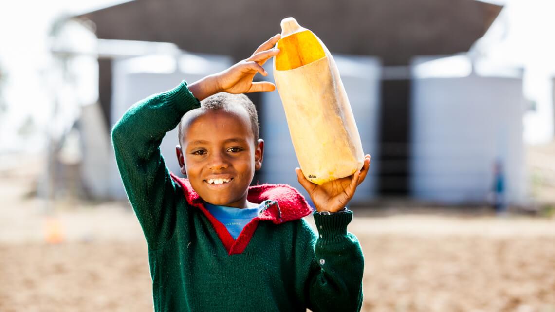 Caritas International België Betere toegang tot veilig drinkwater en sanitaire voorzieningen op school