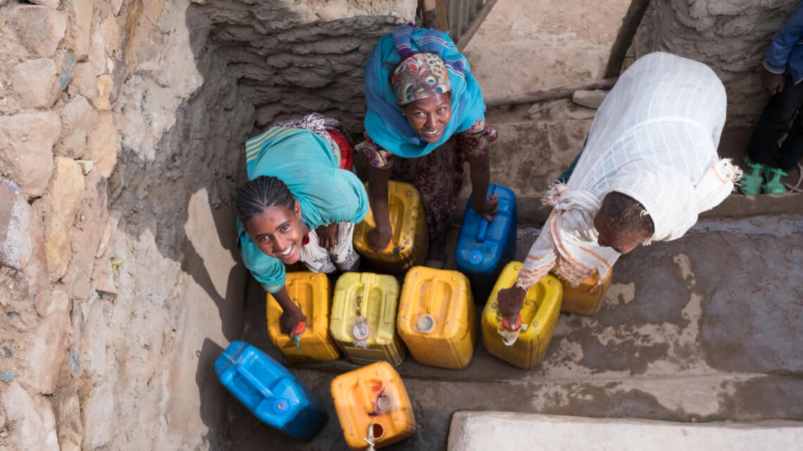 Caritas International Belgium The importance of drinking water around the world