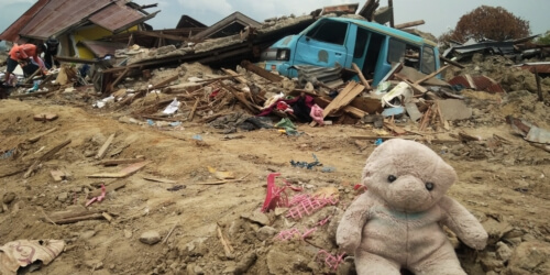 "Caritas International België Sulawesi, Indonesië: ""Mijn dochter is te bang om terug te keren"""